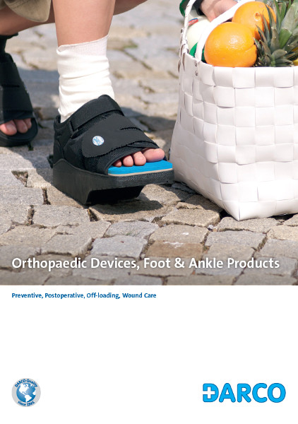 Treatment Of Diabetic Ulcerations Orthowedge Off Loading Shoe
