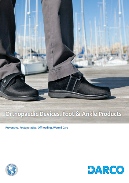 DARCO India Product Catalogue: Orthopaedic Devices, Foot and Ankle Products