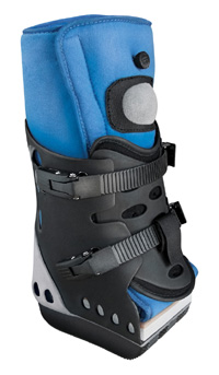 Foot Stump Orthosis Body Armor Pro Term, Interim orthosis for conservative follow-up treatment following Chopart and Lisfranc amputations...